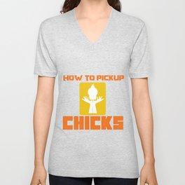 Single Dating Ripper Chick Funny Gift Unisex V-Neck