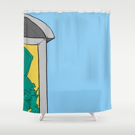 Hamilius Shower Curtain