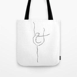 Ispiration ballerina Tote Bag