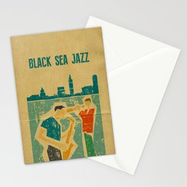 Black Sea Jazz Stationery Cards