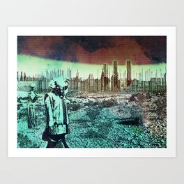 Taking Our Chances Art Print