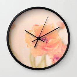 It's All Peachy Wall Clock