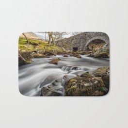 River Ogwen Bridge Bath Mat