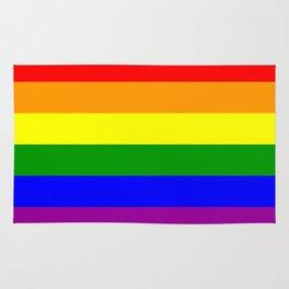Gay Pride Flag Rug