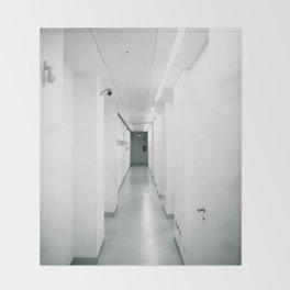 corridor... Throw Blanket