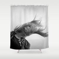 wind Shower Curtains featuring Wind by Renata's Photobox