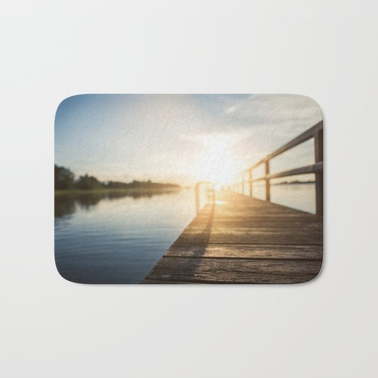 Sitting on the Dock of the Bay Bath Mat