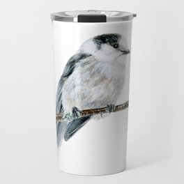 Gray Jay by Teresa Thompson Travel Mug