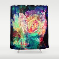 roses Shower Curtains featuring Roses by haroulita