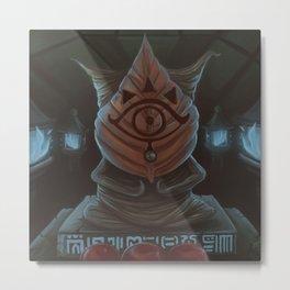 Kolog Shrine Metal Print