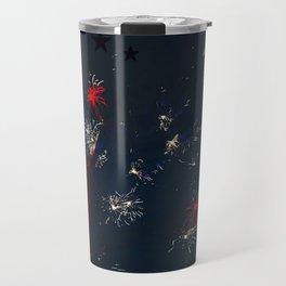Fireworks and Bokeh Travel Mug