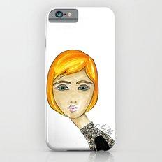 Green-Eyed Girl iPhone 6s Slim Case