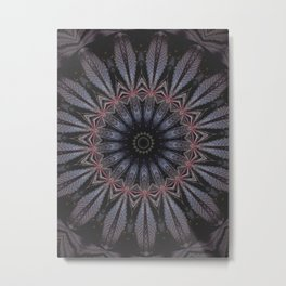 Purple Eye Metal Print