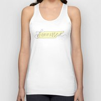 tennessee Tank Tops featuring Tennessee - Yellow by Oh Happy Roar - Emily J. Stivers