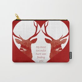 Stag love Carry-All Pouch