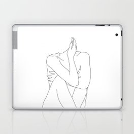 Nude life drawing figure - Celina Laptop & iPad Skin