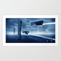 prometheus Art Prints featuring Prometheus by MatoSwamp