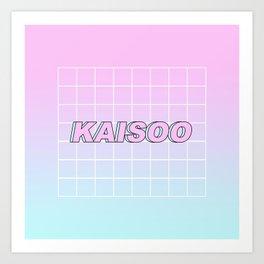 KAI SOO #1 Art Print