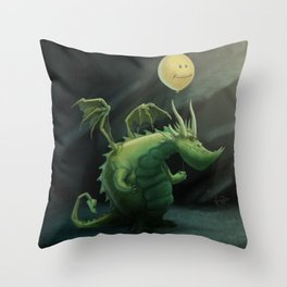 Grint's Golden Hoard Throw Pillow