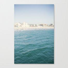 Santa Monica Beach II Canvas Print