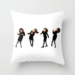 The Little Kicks Throw Pillow