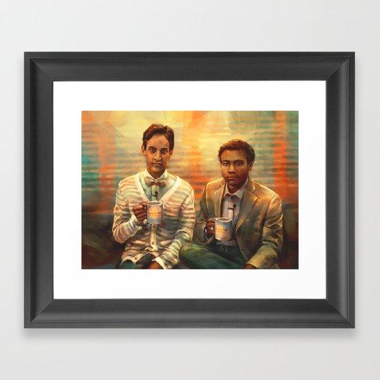 In the Morning Framed Art Print