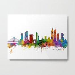 Mumbai Skyline India Bombay Metal Print