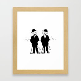 Thomson and Thompson Framed Art Print