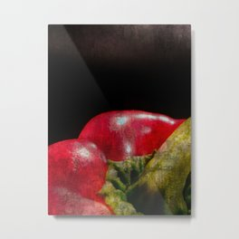 Red Bell Pepper Metal Print
