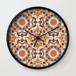 Orange Variety Wall Clock