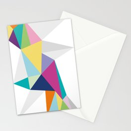 Triangle Brights Stationery Cards