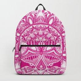 Pink Madala Pattern Backpack
