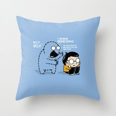Worst Imaginary Friend Ever Throw Pillow