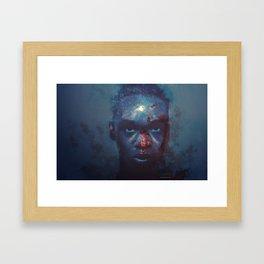 In The Moonlight Framed Art Print