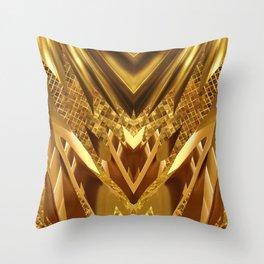 DRAGON'S GOLD Throw Pillow