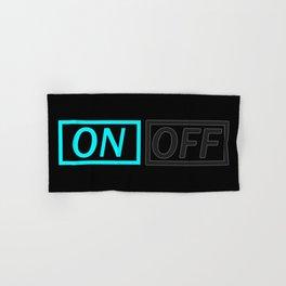 Light On Off Hand & Bath Towel