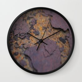 Rust on Rust rustic decor Wall Clock