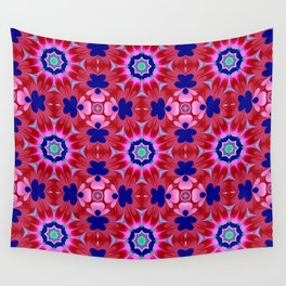 Floral fantasy pattern design Wall Tapestry