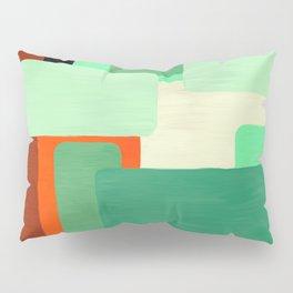 Levels, Mid Century Design Pillow Sham