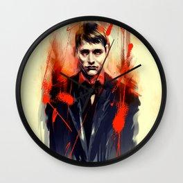Mads Mikkelsen * Hannibal Lecter Wall Clock