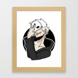 youre nothing if not vain, honey Framed Art Print
