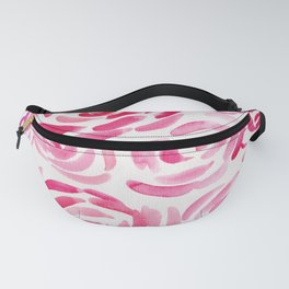3|  190411 Flower Abstract Watercolour Painting Fanny Pack