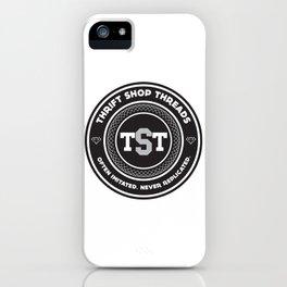 Thrift Shop Threads Button_College iPhone Case