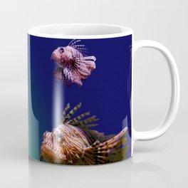 4 Musketeers,  Lionfish. Coffee Mug