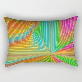 Abstract 359 a dynamic fractal Rectangular Pillow