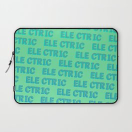 Electric - Typography Laptop Sleeve