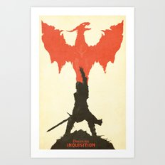 Dragon Age: Inquisition V1 Art Print