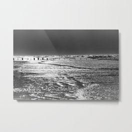 Berrow Beach Metal Print