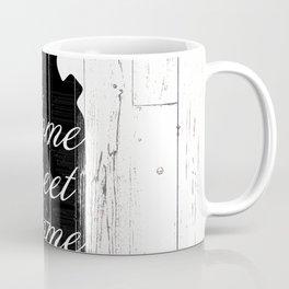 Home Sweet Home Rustic Jug Coffee Mug