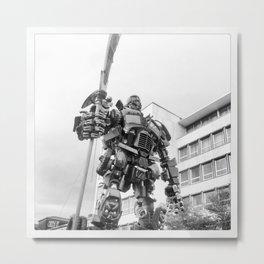 Transformer Metal Print